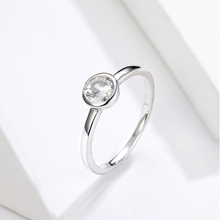 Women's Vintage 925 Sterling Silver Ring for Wedding