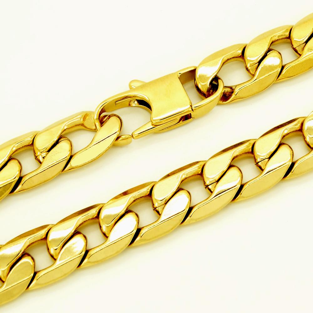 Gold Stainless Steel Women's Bracelet