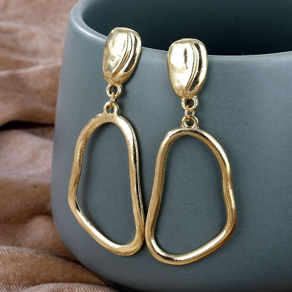 Women's Geometric Design Earrings