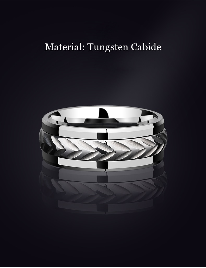Tungsten Ring for Engagement
