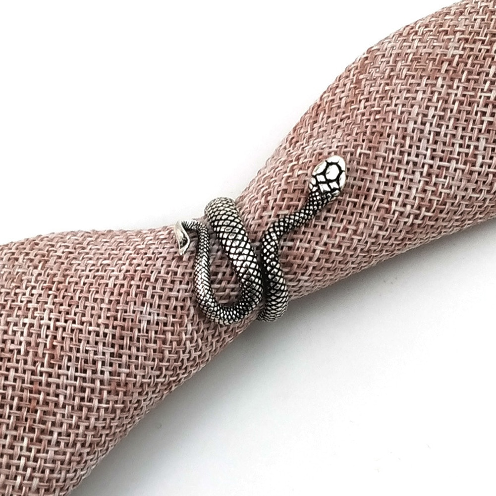 Women's Snake Shaped Adjustable Ring