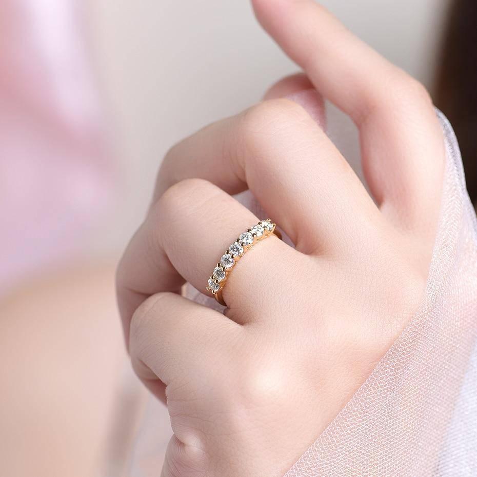 Wedding Moissanite Ring for Women