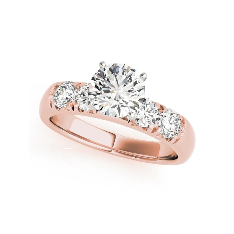 Fashion Solid Silver Wedding Rings Set