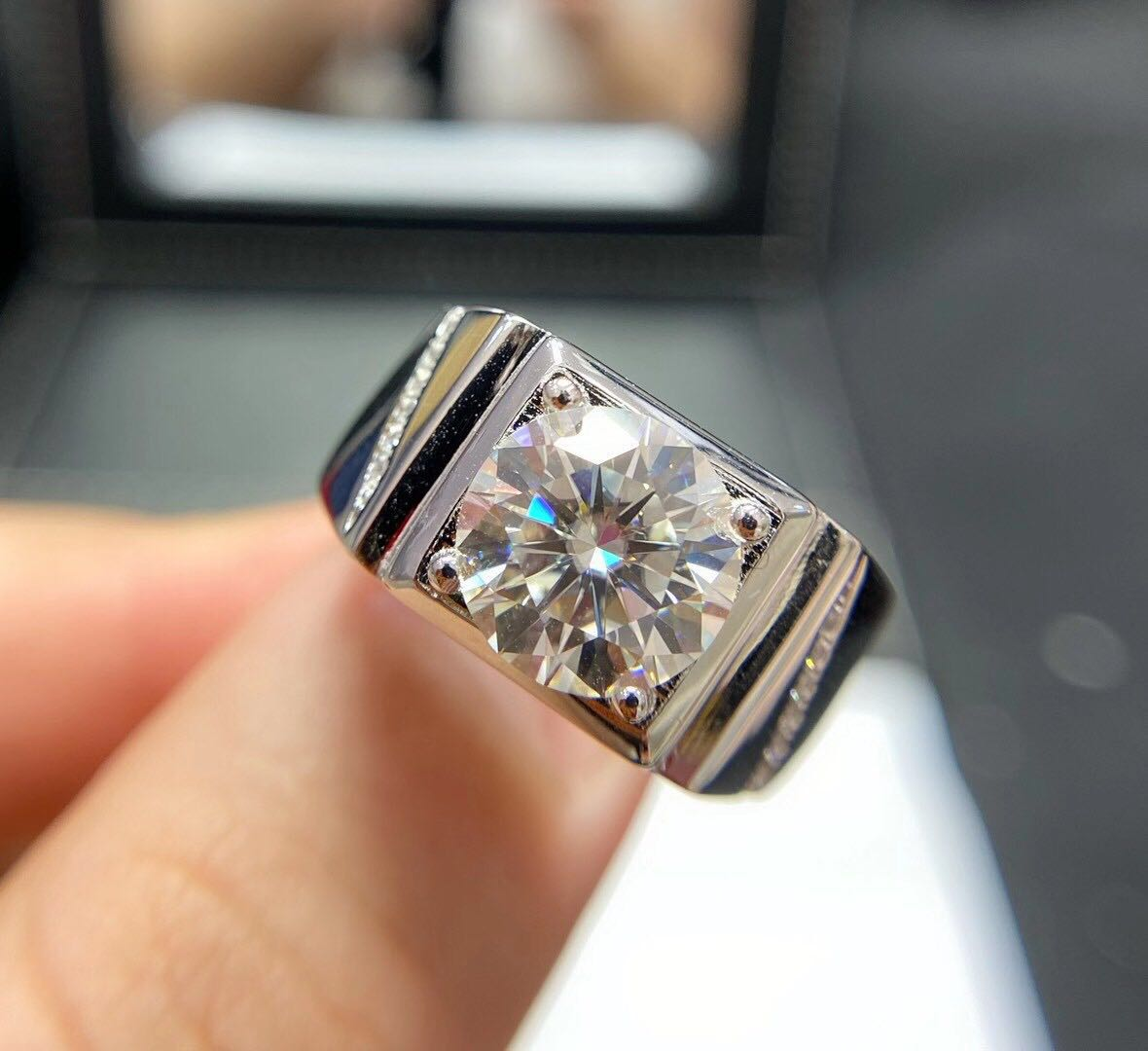 Classic Silver Wedding Ring