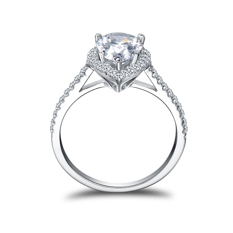 Women's Pure Silver Wedding Ring
