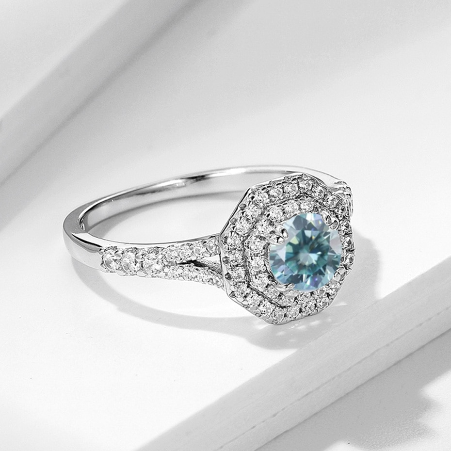 Moissanite Rings for Wedding