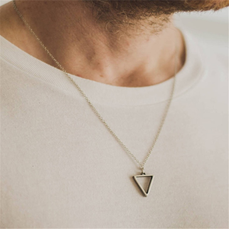 Stainless Steel Pendant Necklaces for Men