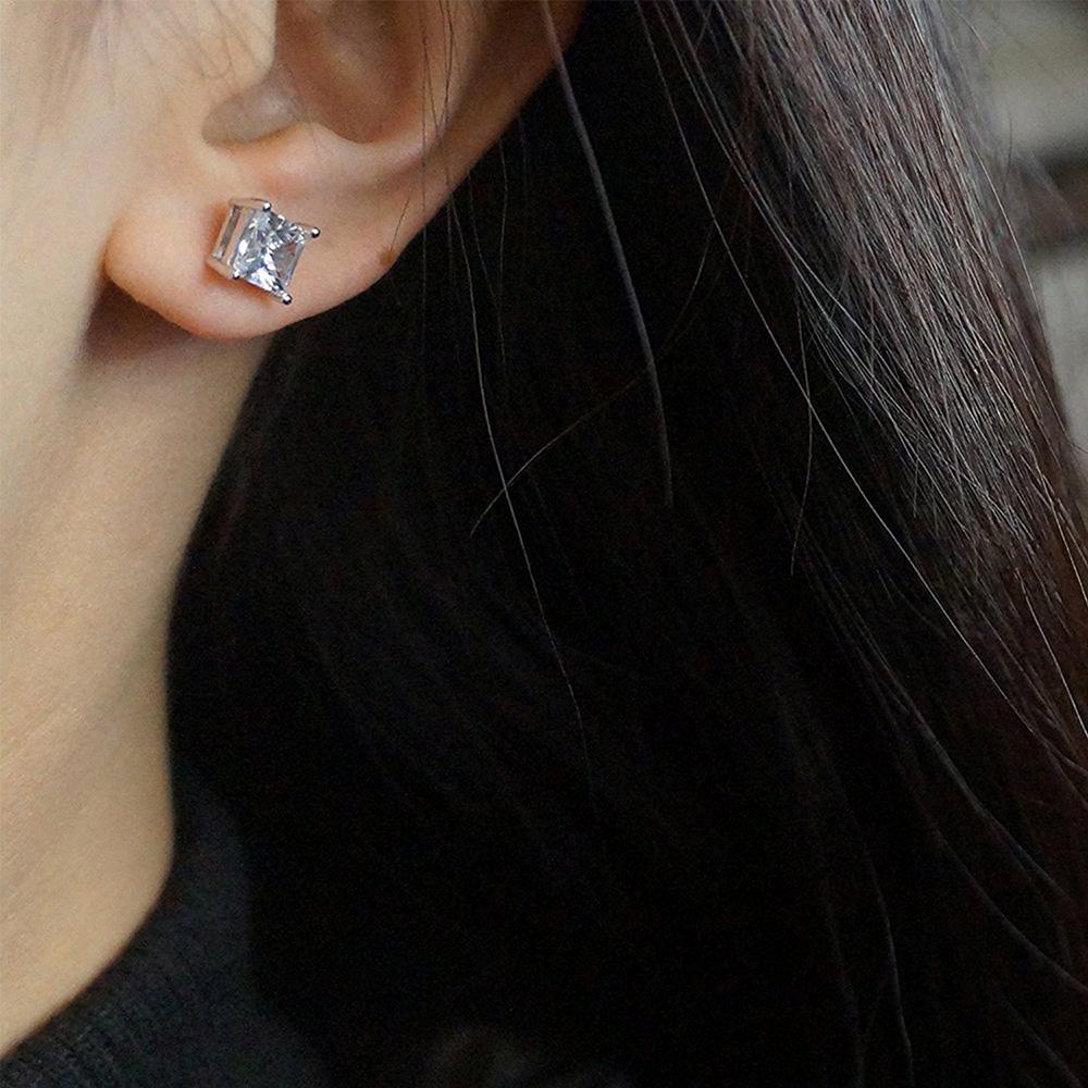 925 Sterling Silver Cubic Zirconia Earrings