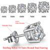 Silver / CZ Earrings