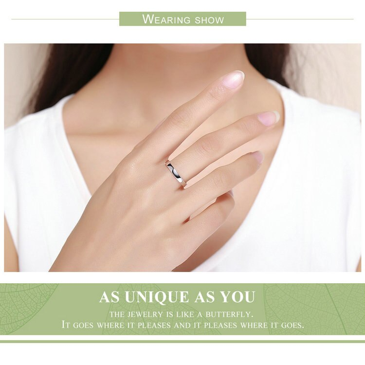 Women's Retro 925 Sterling Silver Ring for Wedding